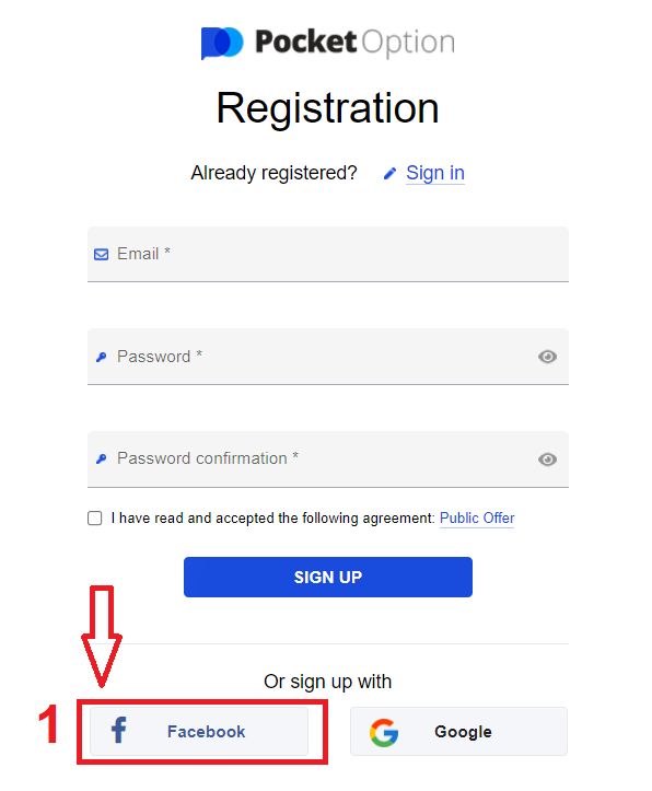 How to Create an Account and Register with Pocket Option