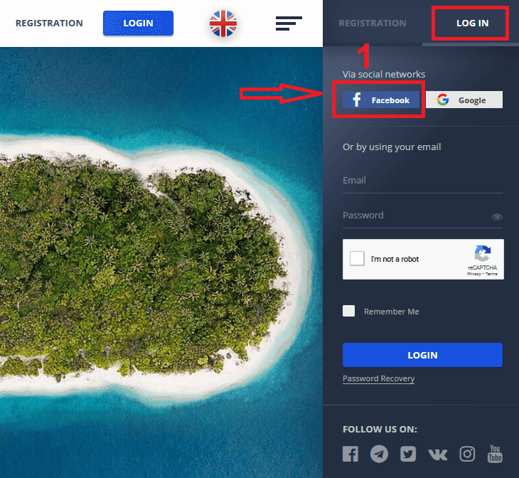 How to Login and Deposit Money in Pocket Option