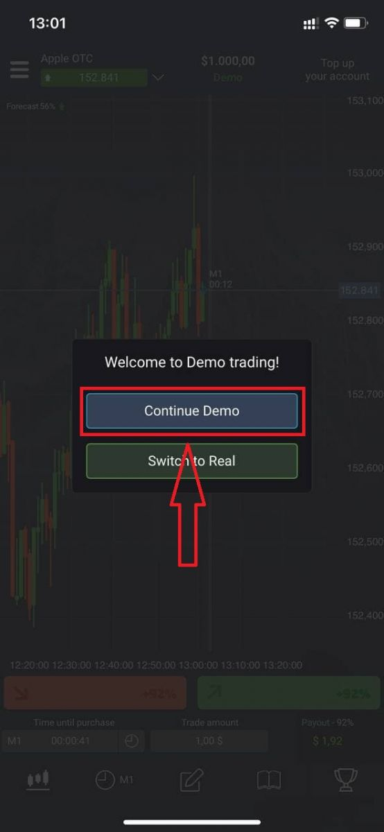 How to Register and Start Trading with a Demo Account in Pocket Option